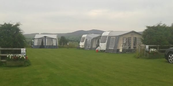 Camping at Tyn Rhos Caravan Park in Snowdonia North Wales